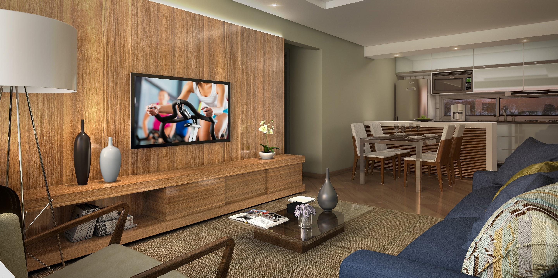 Apartamentos de 2 dormitórios, sendo 1 suíte, com churraqueira e cozinha americana e opção de 1 e 2 vagas cobertas. Empreendimento localizado no bairro Santana, com apenas 13 unidades com 2 apartamentos por andar.
